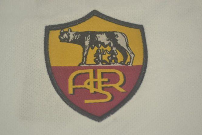 Shirt AS Roma Logo, AS Roma 2000-2001 Away Short-Sleeve Kit