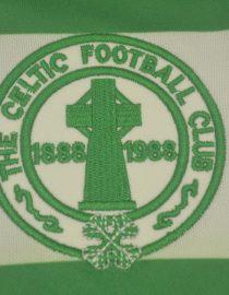 Shirt Celtic Logo, Celtic Glasgow 1987-1989 Home Short-Sleeve Kit