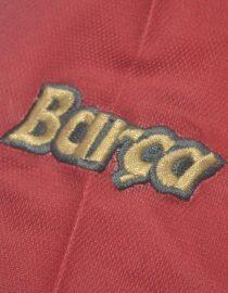 Shirt Sleeve Barca Emblem, Barcelona 1998-1999 Home Short-Sleeve