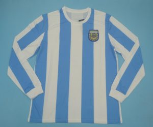 Shirt Front, Argentina 1986 Home Long-Sleeve Kit