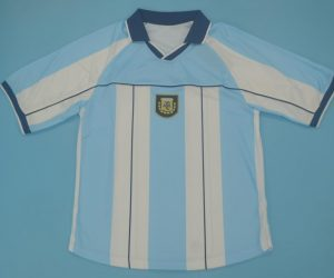 Shirt Front, Argentina 2000-2001 Home Short-Sleeve Kit