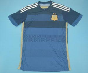 Shirt Front, Argentina 2014 Away Short-Sleeve Kit