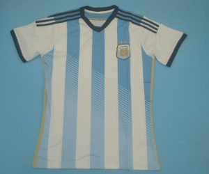 Shirt Front, Argentina 2014 Home Short-Sleeve Kit