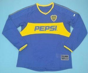 Shirt Front, Boca Juniors 2003-2004 Home Long-Sleeve Kit