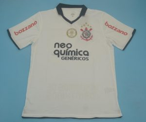 , Corinthians 2010-2011 Home Short-Sleeve Kit