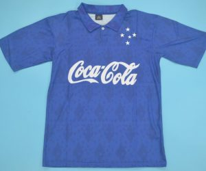 Shirt Front, Cruzeiro 1993-1994 Home Short-Sleeve Kit