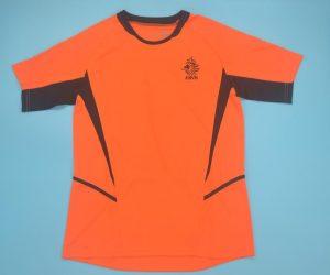 Shirt Front, Netherlands 2002-2004 Home Short-Sleeve Kit