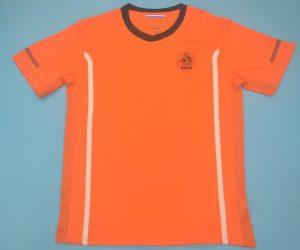 Shirt Front, Netherlands 2010 Home Short-Sleeve Kit