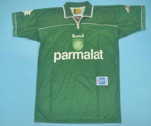 Shirt Front, Palmeiras 1999 Home Short-Sleeve Kit