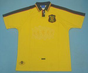 Shirt Front, Scotland 1996-1998 Away Short-Sleeve Kit