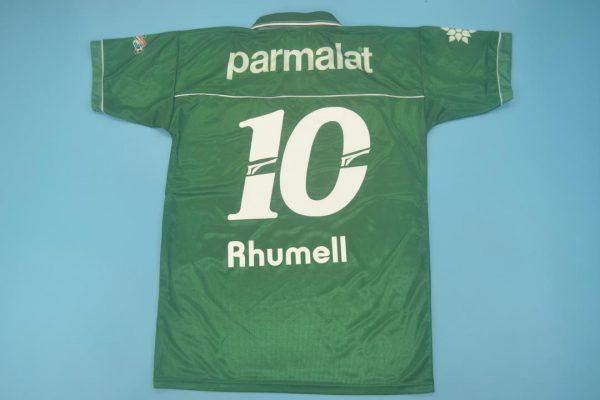#10 Nameset Back, Palmeiras 1999 Home Short-Sleeve Kit
