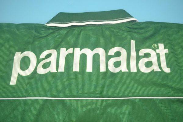 Shirt Collar Back, Palmeiras 1999 Home Short-Sleeve Kit