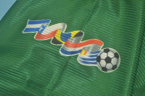 Shirt Sleeve Closeup, Palmeiras 1999 Home Short-Sleeve Kit