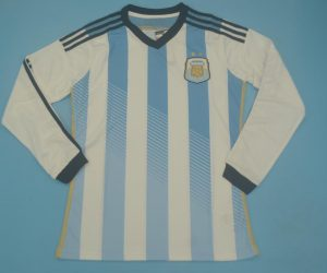 Shirt Front, Argentina 2014 Home Long-Sleeve Kit