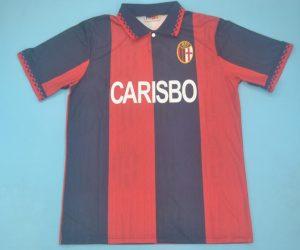 Shirt Front, Bologna 1995-1996 Home Short-Sleeve Kit