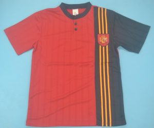 Shirt Front, Spain 1996 Home Short-Sleeve Kit